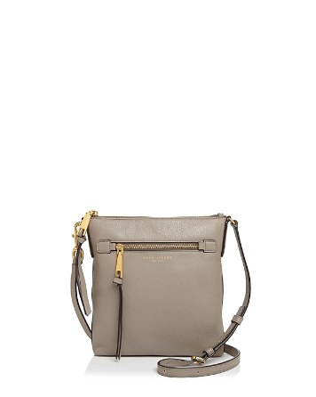 $MARC JACOBS Recruit North/South Leather Crossbody - Bloomingdale's