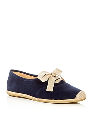 Bettye Muller Eve Lace Up Espadrille Flats
