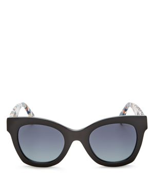 Fendi Square Cat Eye Sunglasses, 48mm