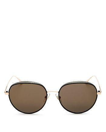 Jimmy Choo - Women's Ello Round Sunglasses, 55mm