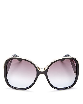 Chloé - Women's Mandy Oversized Square Sunglasses, 59mm