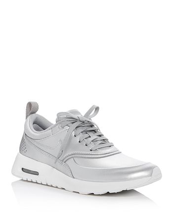 available good service offer discounts Nike Air Max Thea Metallic Lace Up Sneakers | Bloomingdale's