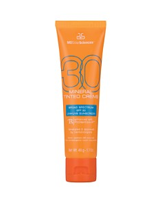 MD Solar Sciences - Mineral Tinted Crème SPF 30 Broad Spectrum Sunscreen