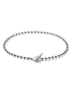 Gucci - Boule Sterling Silver Circle Necklace, 17""