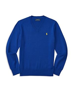 Ralph Lauren Childrenswear Boys' V Neck Pullover - Big Kid