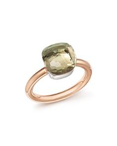 Pomellato Nudo Classic Gemstone Ring in 18K Rose & White Gold - Bloomingdale's_0