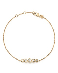 KC Designs - 14K Yellow Gold Diamond Bezel Bracelet - 100% Exclusive