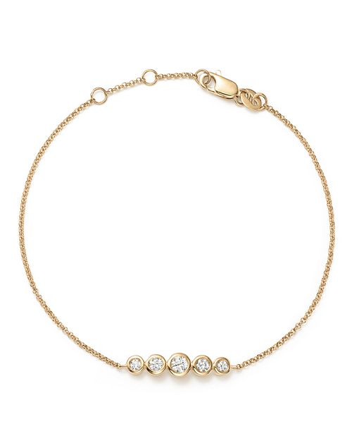 KC Designs - 14K Yellow Gold Diamond Bezel Bracelet - 100% Exclusive