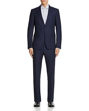 Z Zegna Solid Serge Micro Design Slim Fit Suit