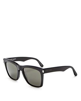 Saint Laurent - Women's Devon Oversized Square Sunglasses, 55mm