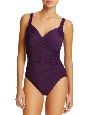 $Miraclesuit Must Have Sanibel Ruched One Piece Swimsuit - Bloomingdale's