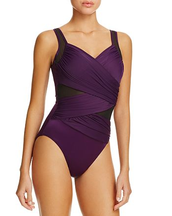 69cc6cf84b Miraclesuit Network Madero One Piece Swimsuit | Bloomingdale's