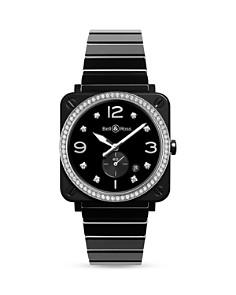 Bell & Ross BR S Black Ceramic Diamond Watch, 39mm - Bloomingdale's_0