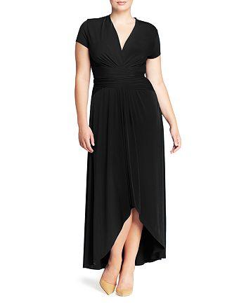 MICHAEL Michael Kors Plus - Crossover Maxi Dress