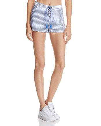 The Jetset Diaries - Haven Lace-Up Shorts