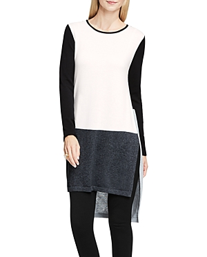 Vince Camuto Color Block Tunic Sweater