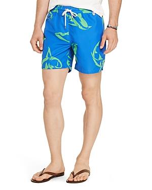 Polo Ralph Lauren Shark Print Swim Trunks