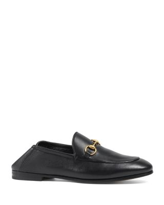 Gucci Women's Brixton Apron-Toe Loafers