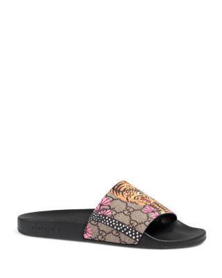 da4faea6b195c3 Gucci Pursuit Bengal Pool Slide Sandals