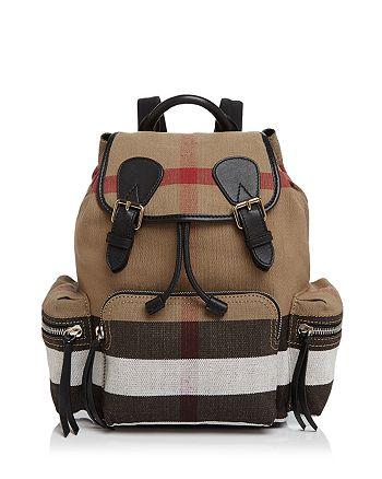 6e51310df412 Burberry - Medium Canvas Backpack