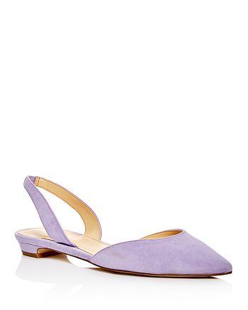 IVANKA TRUMP - Women's Tevelyn d'Orsay Pointed Toe Flats
