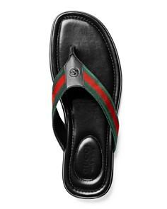 Gucci - Men's Titan Thong Sandals