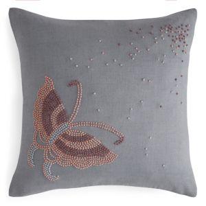 Beekman 1802 Esprance Butterfly Knot Decorative Pillow, 14 x 14