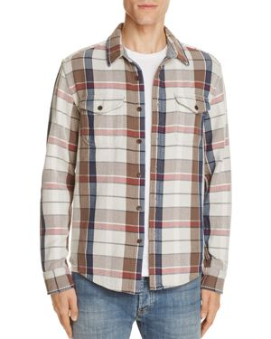 Outerknown Blanket Stripe Slim Fit Button-Down Shirt