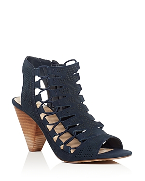 Vince Camuto Esray Perforated Caged Sandals