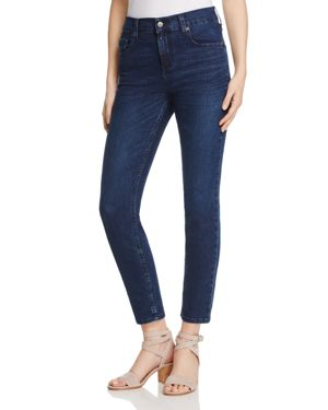 Karen Kane Skinny Ankle Jeans in Medium Wash