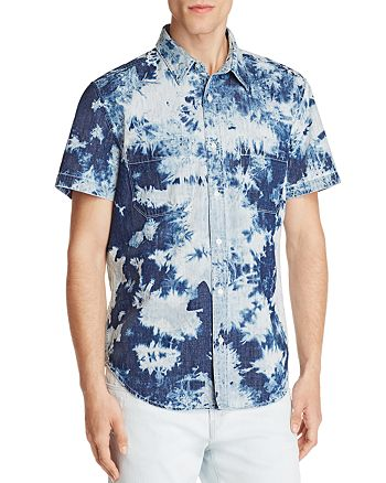 7 For All Mankind - Tie Dye Regular Fit Button-Down Shirt - 100% Exclusive