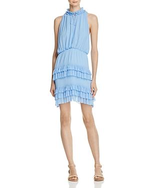 Sandro Bluebird Ruffle Dress - 100% Exclusive