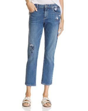 Paige Bridgette Ankle Jeans in Indigo Blossom - 100% Exclusive 2423997