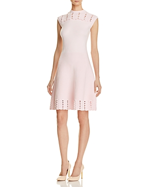 Ted Baker Jacquard Cutwork Skater Dress - 100% Exclusive