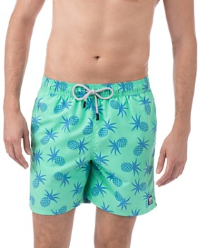 TOM & TEDDY - Pineapple Swim Trunks