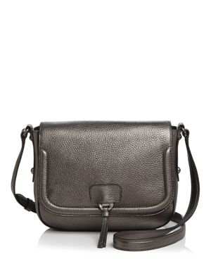Annabel Ingall Camille Metallic Saddle Bag