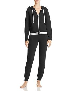 Calvin Klein - Modern Cotton Full Zip Hoodie & Jogger Pants