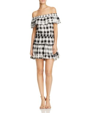Misa Los Angeles Marielle Off-the-Shoulder Dress 2437328