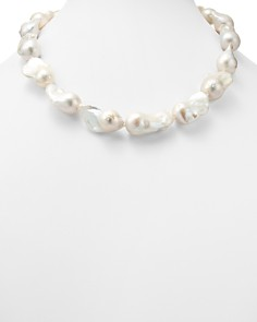 "Bloomingdale's - Baroque Cultured Freshwater Pearl Necklace, 22"" - 100% Exclusive"