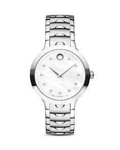 Movado Luno Watch with Diamonds, 32mm - Bloomingdale's_0