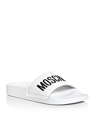 Moschino Pool Slide Sandals