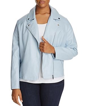 Bagatelle Plus Faux Leather Moto Jacket