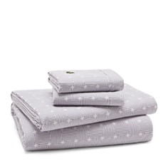 Lacoste Geo Compass Percale Sheet Sets - Bloomingdale's_0