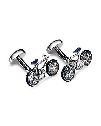 Babette Wasserman - Bicycle Cufflinks