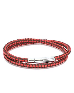 Babette Wasserman Double Wrap Harlequin Bracelet