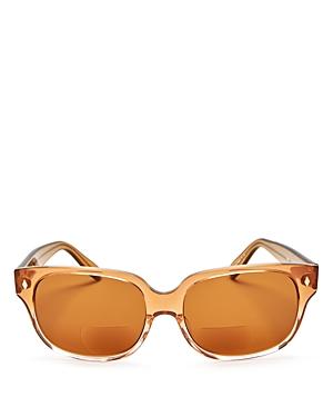 Corinne Mccormack Emile Oversized Square Reader Sunglasses, 57mm