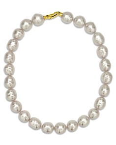 "Majorica Baroque Simulated Pearl Collar Necklace, 17"" - Bloomingdale's_0"