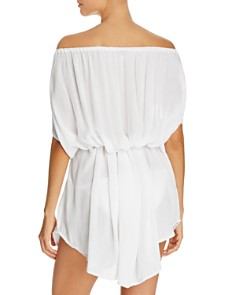 Echo - Seaside Off-The-Shoulder Caftan
