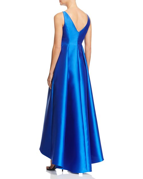 Adrianna Papell Sleeveless High/Low Ball Gown   Bloomingdale\'s