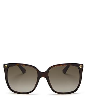 Gucci Women's Square Sunglasses, 57mm